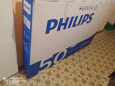 Новый PHILIPS 50PUS6704/60 50 дюймов 4K  Подарили, стоит без дела