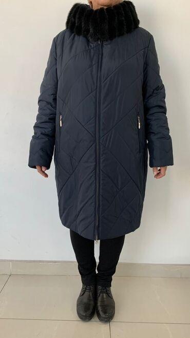 Пальто женское стеганное, производство Турция ( Feenegere). Размер 58
