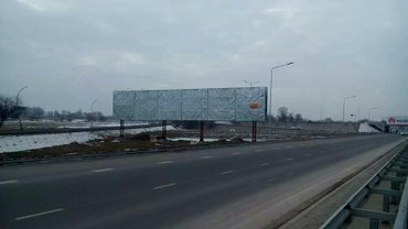 сдается в аренду рекламная площадь на пересечении улиц советская/бокон в Бишкек