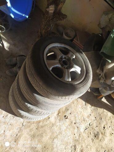 диски субару в Кыргызстан: Диск с резиной субару за весь комплект