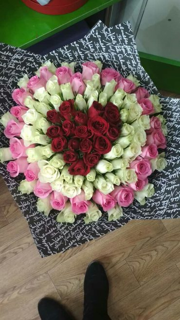 Розы,букеты, цветы  !!! в Бишкек