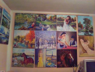 Umetnicke slike u tehnici Ulje na platnu  dimenzije  40x30 cm - Smederevo