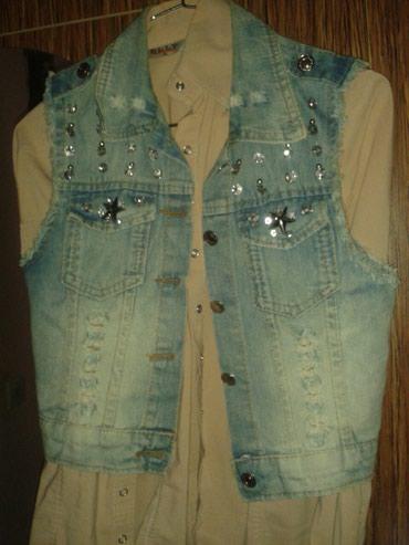 Bakı şəhərində Jeans qaşli jiletka çox gözel görünüşü var bir iki defe