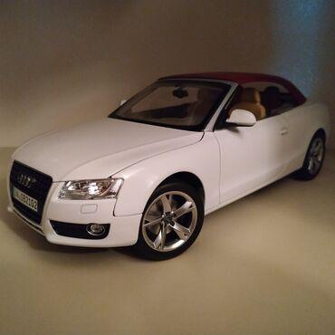 sürət qutusu - Azərbaycan: Audi A5 (1:18)Kapotu, bagaji, qapilari acilir, krisasi cixarilib
