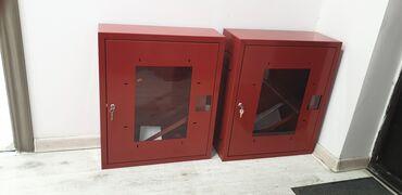Другие товары для дома - Кыргызстан: Шкафы пожарных кранов и комплектация к ним. Огнетушители, пожарные