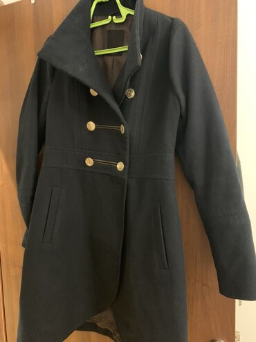 Tiffany teget kaput, veličina L, NOVO. Kaput je nov, obučen 2 puta