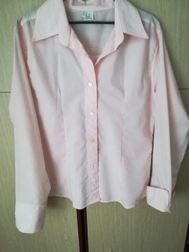 Roza košulja, L veličina. Nova, 100% pamuk. Robu šaljem pouzećem - Novi Sad