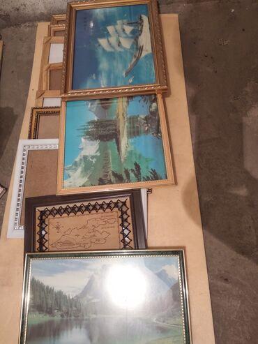 Рамки для картин и настенные картины