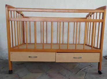 Продаю детскую б/у кроватку Цена 1200 сом
