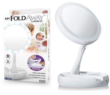 Dostupno Foldaway Mirror je savršeno ogledalo za Vaše šminkanje i