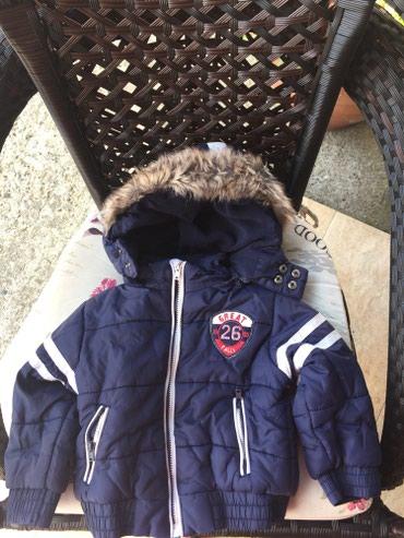 Decija zimska jaknica za uzrast 80/12 m. Nosena samo jednu sezonu - Krusevac