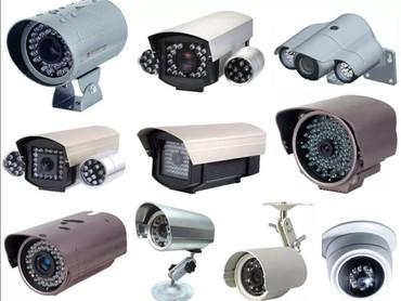 Xırdalan şəhərində Kameraların təmiri quraşdırılması