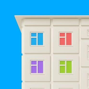 77 серия домов in Кыргызстан   ПРОДАЖА КВАРТИР: 107 серия, 2 комнаты, 50 кв. м Бронированные двери, Без мебели