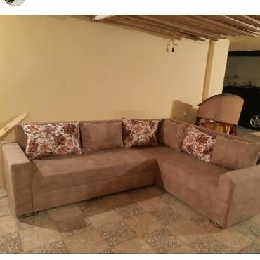 acilmir - Azərbaycan: Künc divan yenidir sifarişle yığılır açılmır paduşkakar qiymete