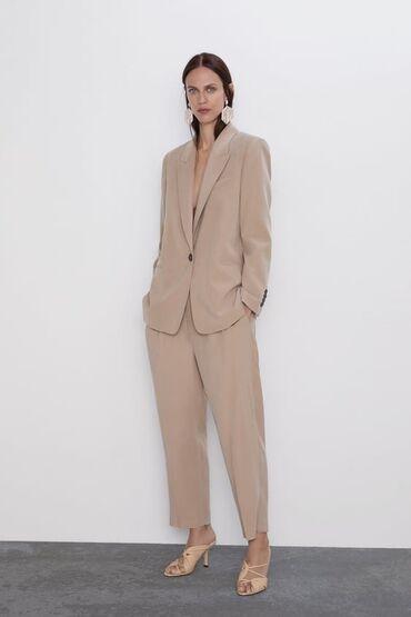 trikotazhnoe platja s rukav в Кыргызстан: Zara костюм состояние новое покупали за 12000, одевала 2 раза