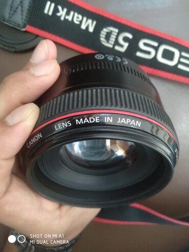 Obyektivlər və filtrləri - Azərbaycan: Canon EF 50mm f/1.2L USMIdeal vəziyyətdə heç bir problemi yoxdu hər