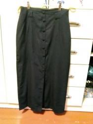 платье с фатиновой юбкой в пол в Кыргызстан: Юбка фирменная в пол. 48-50 размер. На пуговицах, сзади разрез. Вискоз