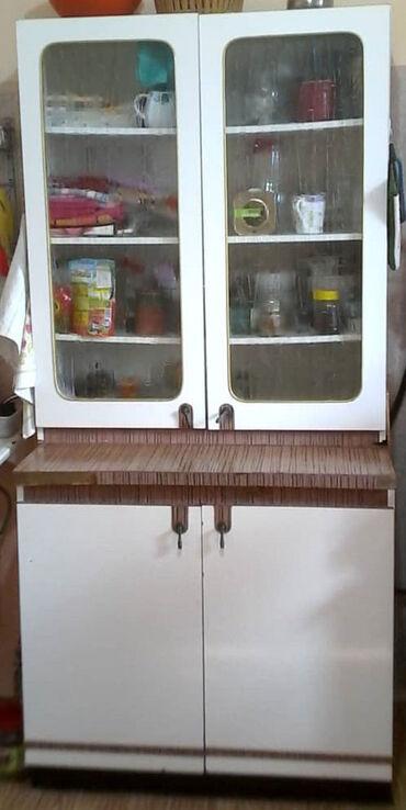 Шкаф кухонный б/у. Все дефекты показаны на фото. Двери не