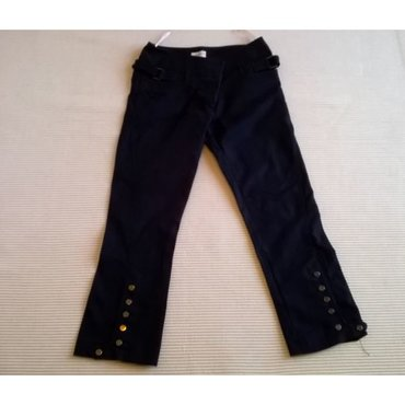 36 - Ελλαδα: Παντελόνι Karen Millen μαύρο - Μέγεθος S / EU 36 - Μέση 83