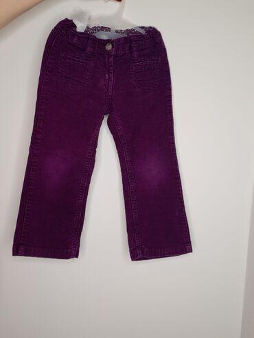 Pantalone eur - Srbija: Somotne pantalonice za devojčiceH&M eur 98 od 2 - 3yOba para