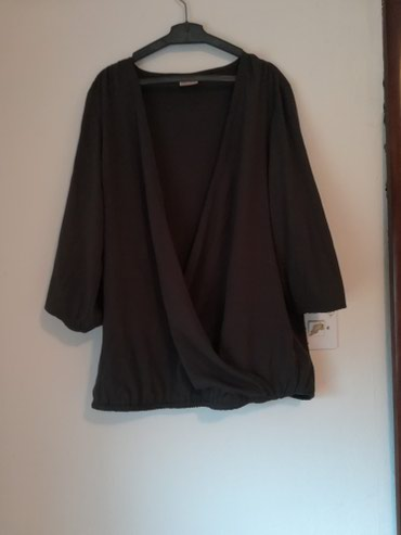 Only elegantna kosulja, tamno siva, dekoltirana, 40 vel - Pozega - slika 2