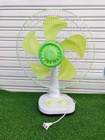 Вентилятор Настольный Уровни мощности 3 С таймером