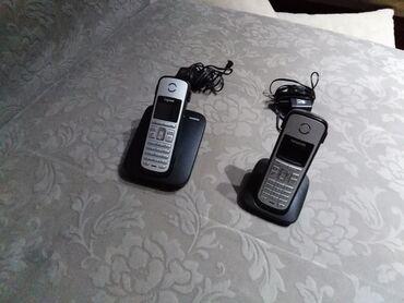 Siemens bezicni fiksni telefon sa 2 ssluslice. Pootpuno ispravan i