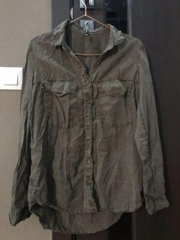 рубашка от mexx в Кыргызстан: Джинсовая рубашка 300 сом