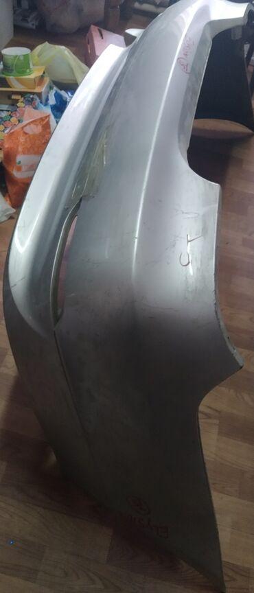Bmw x3 xdrive30d at - Кыргызстан: Задний бампер BMW e60. Все крепления целые, трещин нет, серебро#бмв