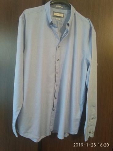 "Брендовая рубашка ""bugatti"" абсолютно новая,43-44р, XL в Бишкек"