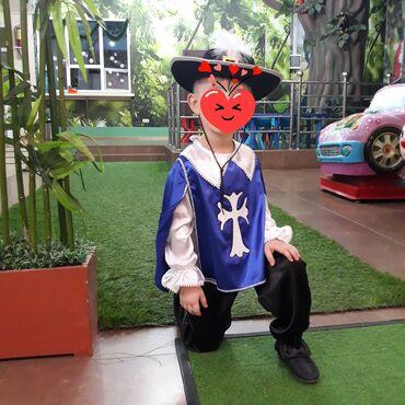 качели железные детские в Кыргызстан: Новогодний костюм!!! МУШКЕТЕР!!! качество отличное на 4-6 лет. Одевали