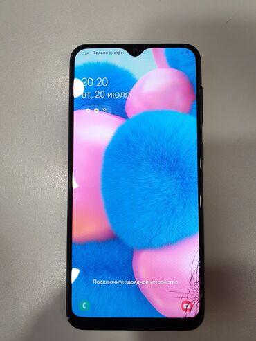 продажа смартфонов в бишкеке в Кыргызстан: Samsung A30s   64 ГБ   Черный   Трещины, царапины, Сенсорный, Отпечаток пальца