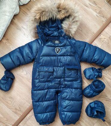 одежда больших размеров бишкек в Кыргызстан: Продаю. Очень теплый комбинезон- трансформер. Размер М. подходит с 6