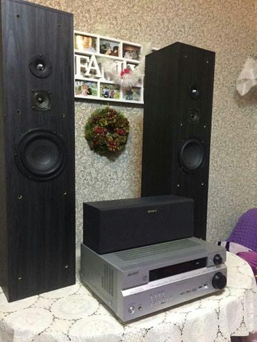 Akustika SONY ,resiver Pioneer ,колонки в идеальном в Bakı