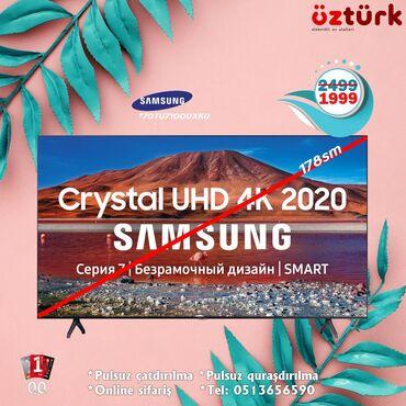 70 - Azərbaycan: 70TU7100 2020 model crystal 4k UHD