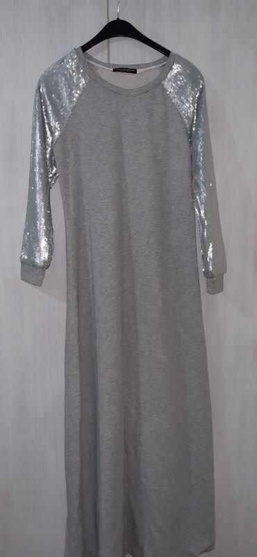 вязаное платье свободного кроя в Кыргызстан: Платье Свободного кроя Dolce Vita M