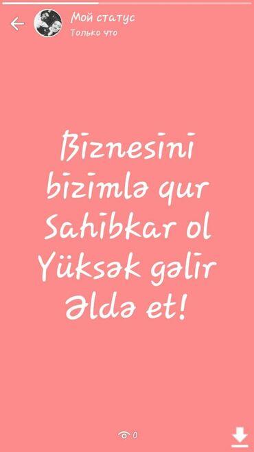 turkan - Azərbaycan: Şəbəkə marketinqi məsləhətçisi. Faberlic. İstənilən yaş. Natamam iş günü. Fatmayı r-nu