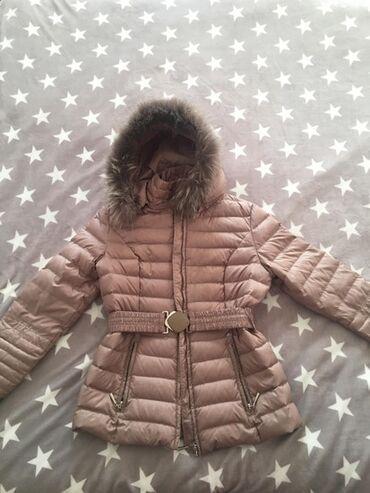Jakna sa prirodnim krznom - Srbija: Zimska perjana jakna sa prirodnim krznom