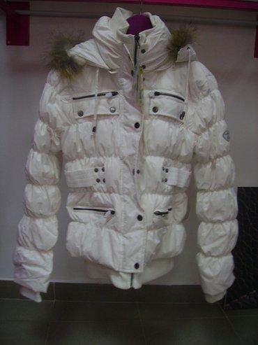 Zimske jakne bele i crne nove, velicina XL. na kapuljaci je prirodno - Belgrade