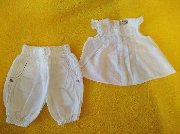 Next kompletić bluza i pantalone za male bebe devojčice PRESLATKO kao