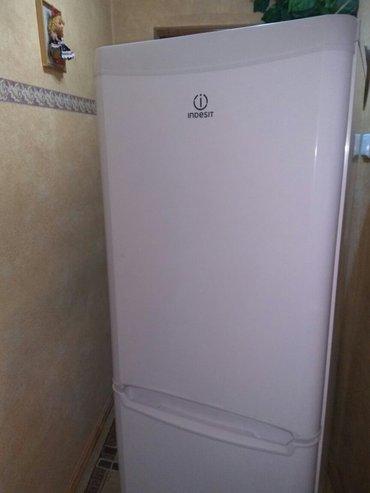 холодильник  indesit в отличном состоянии,высота 1,70,морозильник в Бишкеке