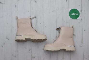 Жіночі черевики з декоративною молнією, р. 40    Довжина підошви: 29 с