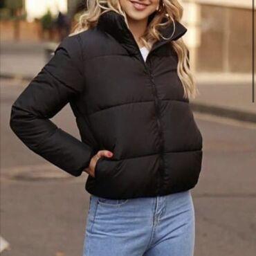 Чёрная базовая куртка
