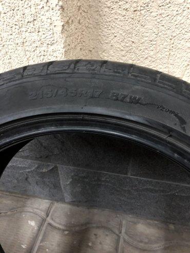 Продаю авто резину Bridgestone Playz. Б/У. 215/45/R17. Made in Japan в Бишкек