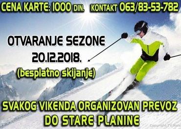Ski izlet-STARA PLANINA - Zlatibor