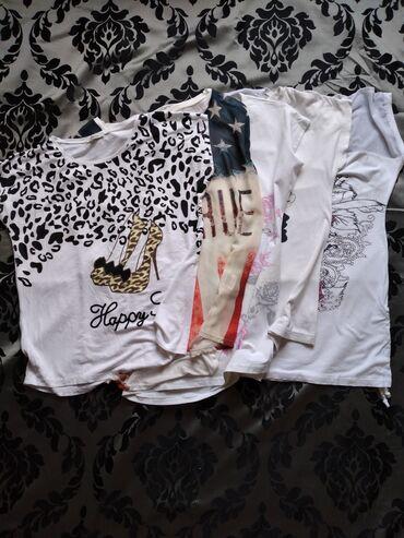 Личные вещи - Манас: Распродаю футболки по 70, 10 и 200 с. Хорошее качество. Б/у, но в