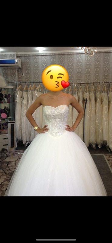Продаю свадебное платье цвет айвари в Бишкек