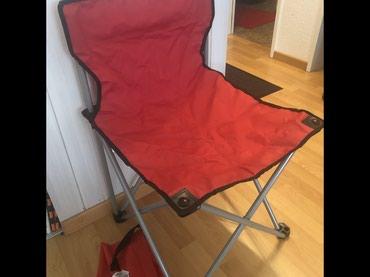 Šatori - Smederevo: Stolica za kampovanje br.9, uvoz Svajcarska