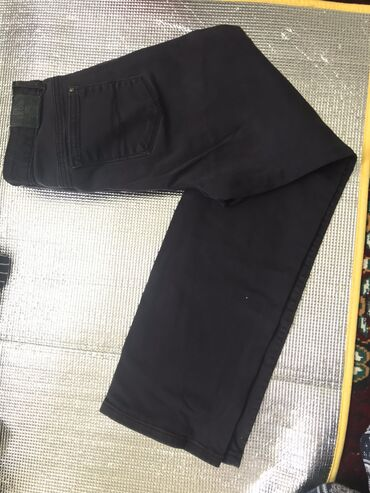 Джинсовые штаны из Европы  Made in Egypt  Размер подойдёт на 48-50