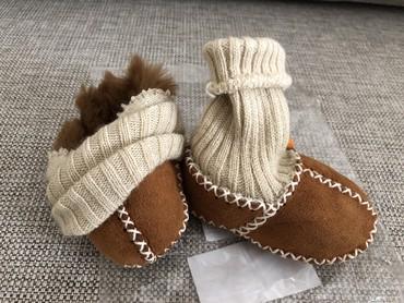 детские пинетки кеды в Азербайджан: Новые пинетки. 100% натуральная овчина. Размер 17-18. 3-9 месяцев